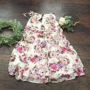 Torrid Floral Sleeveless Dress NWOT